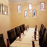 The Champagne Room - A secluded room perfect for intimate gatherings with friends and family