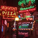 colorful neon signs