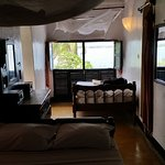 view of 2 beds in room #4