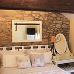 The kingsize Barn Room with private bathroom
