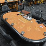 Table Games Including 3 Card Poker, 2 Card Poker, One Card Poker and Ultimate Texas Hold'em.