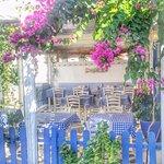 milos Kale içi veranda
