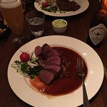 Venison and beer. Yum