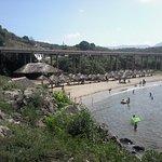 Bridge and Beach view