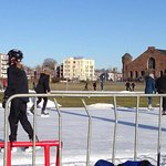 Free skate at the Oval in Halifax