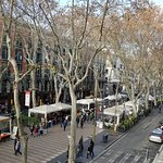 Right, up La Rambla