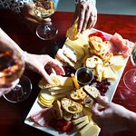 Cheese Platter selections featuring local farm cheeses.