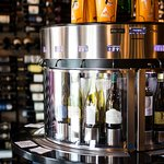 32 Wines on Tap in our special Enomatic Machines.  Taste or by the glass offerings.