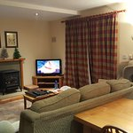 Living Dining area cottage Ryehill Farm Slaley