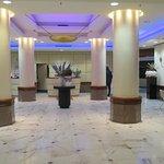 opulent interiors of hotel