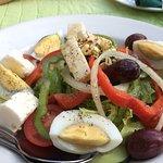Salat voraus