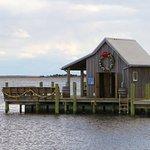 Manteo fishing net shack