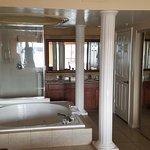 bathroom of two-room unit