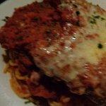 Chicken Parm and pasta