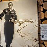Ski buffs will enjoy the Warren Miller photos & his hand written description