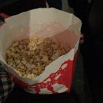 Fresh-popped popcorn doesn't last long!
