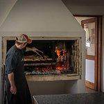 Chef Diego preparing dinner