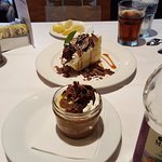 Chocolate mousse trifle, Emeril's banana pie