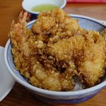 A bowl of tempura 1,800Y appx