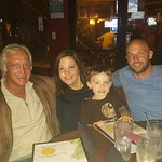 With Liz's Uncle Steve