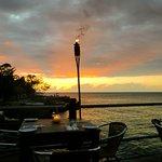 Sunset dining.