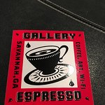 Gallery Espresso sticker