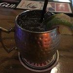 Tennessee mule: jack daniel's whisky+ginger beer+lime