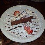 Chocolate cake dessert -- yum!