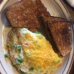 Eggwhite Pancake and toast
