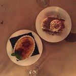 Creme Brulee and Tiramisu