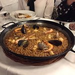 Paella for 2 part of the piano night menu