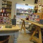 Inside the shop/cafe