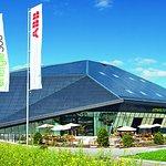 Aussenansicht Umwelt Arena Schweiz