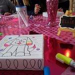 Our Glitter Kid's Party Celebration -Happy Birthday Ellie