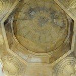 La cupola che sovrasta la Statua