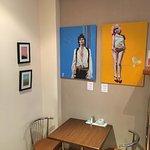 Interiors, unorthodox art, and a jet-powered waitress...