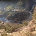 Vue de la vallée de l'Eyrieu ( belvedère en allant à Chalencon)