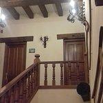 Escalera de acceso a las habitaciones