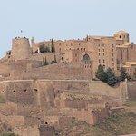 Castell de Cardona desde la poblacion
