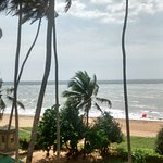Inside a suite at Tangerine Breach Hotel, Kalutara, SA view from a 4th floor room at the Tangeri