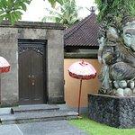 Entrance to 1bd pool villa