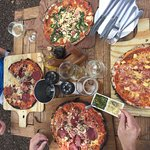 Pizza, wine and craft beer