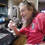 Steve at the bar