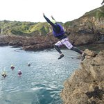 Coasteering at Petit Bot...Head to our website for more info - www.outdoorguernsey.co.uk