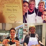 A wonderful day cooking with my client, Danielle, and Daniela and Nadia. Heaven!
