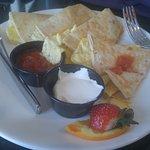 Delicious breakfast Quesadillas