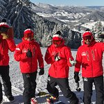 Our qualificate instructors will make you enjoy the slopes