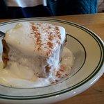 Iriish bread pudding