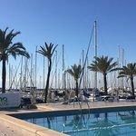 Schöne Atmosphäre mit tollem Blick über die Playa de Palma