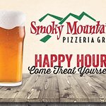 Happy hour happens everyday at Smoky's 3:00 p.m. to 5:30 p.m.!